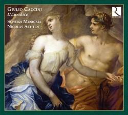 Copertina del disco di Caccini