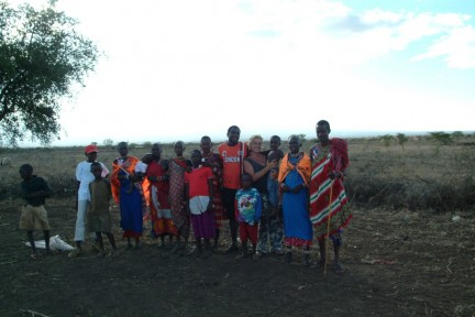 Donatella e i Maasai