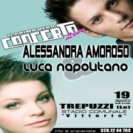 Alessandra Amoroso e Luca Napolitano insieme in concerto