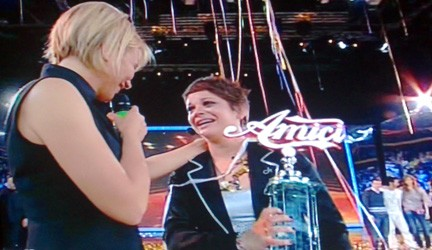 Alessandra Amoroso vince amici