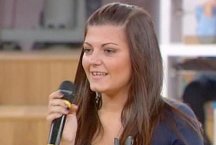 Arianna Mereu cantante di Amici di Maria De Filippi9