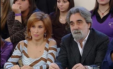 Grazia Di Michele e Beppe Vessicchio