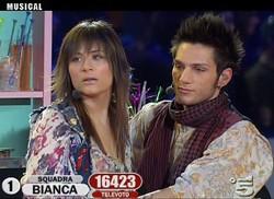 Jennifer Milan e Luca Napolitano nel musical Accross the Universe