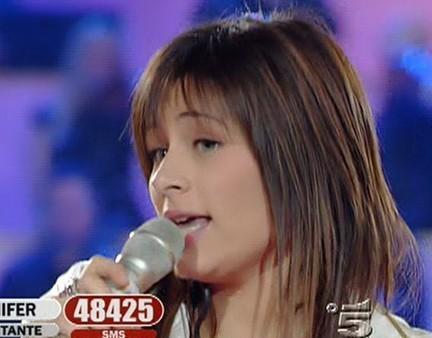 Jennifer Milan ex cantante di Amici canta i got to go