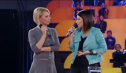 Laura Pausini ospite ad Amici