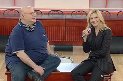 Lorella Cuccarini con Mauro Coruzzi