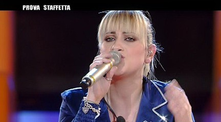 Martina Stavolo eliminata nell'ottava puntata di Amici 2008