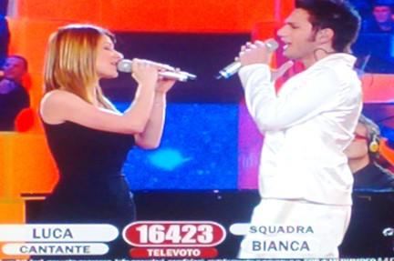 L'esibizione di Gabriella Scalise e Luca Napolitano per la prova Jolly