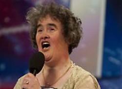Susan Boyle partecipante del talt Britain's got talent