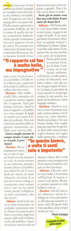 Adriano Bettinelli e Martina Stavolo si sono lasciati