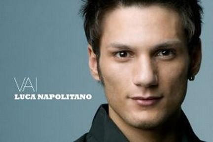 La copertina del cd di Luca Napolitano