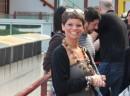 Alessandra Amoroso alla conferenza stampa di