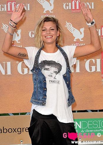 Emma Marrone al Giffoni Film Festival