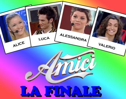 i 4 finalisti di amici 8