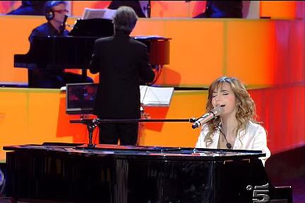 Silvia Olari al piano esegue Georgia on my mind