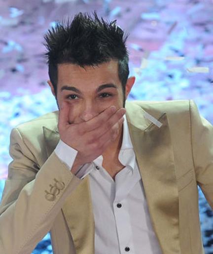 Marco Carta vince Sanremo