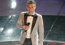 Le immagini della prima serata di Marco Carta al Festival di Sanremo