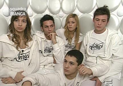 La squadra Bianca di Amici 8