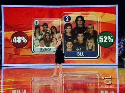 la squadra Blu vince la terza puntata