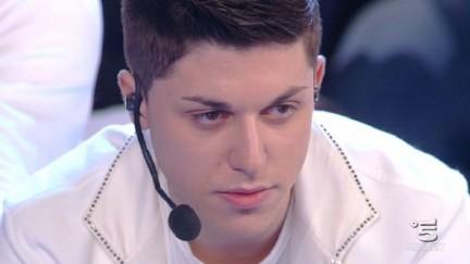 Stefanino Maiuolo esce nela terza puntata del serale di Amici 9