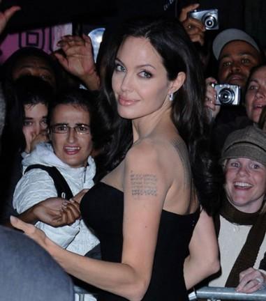 Angelina al New York Film Festival 2008