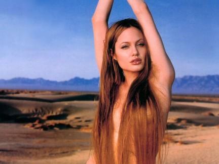 Angelina dark-punk!