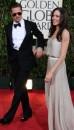 Angelina e Brad ai Globes