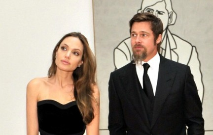 Angelina e Brad al Museo di Arte Contemporanea