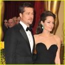 Angelina e Brad alla notte degli Oscar