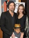 Angelina e Brad alla premiere di Invictus