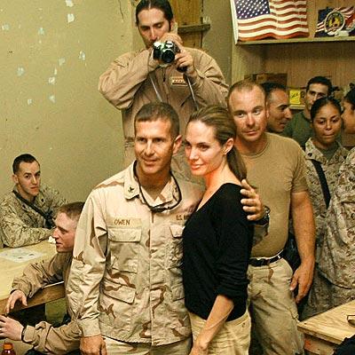 Angelina in Iraq!