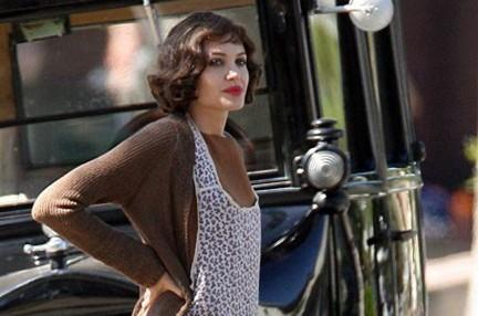 Angelina Jolie sul set di Changeling