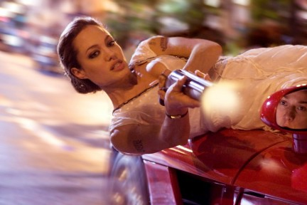 Sexy Angelina in Wanted!