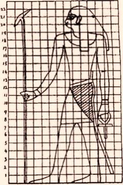 Schema canone egiziano