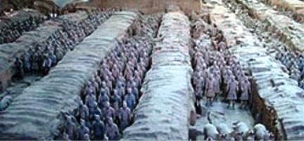 Esercito guerrieri di terracotta