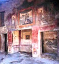 Pitture IV stile Casa Ara Massima