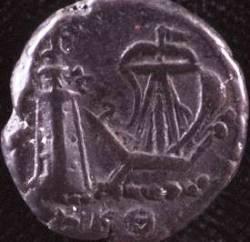 Moneta con raffigurazione del Faro di Alessandria