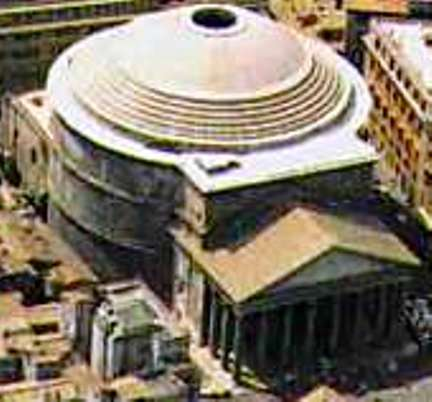 Archeologia le guide di supereva for Esterno pantheon