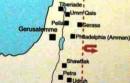 Mappa della Giordania