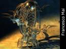 Vetrina dedicata alle opere di Quaz-Art