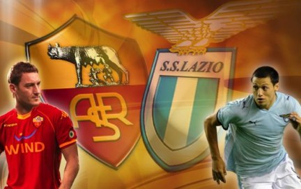 Roma Lazio 2-1