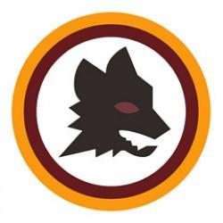 Logo AS Roma degli anni 80