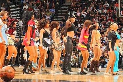 Gallery delle più belle Cheerleaders della NBA