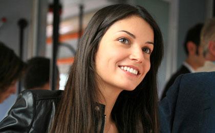 Foto della bella attrice romana Michela Quattrociocche
