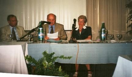 Clara Negri, Pasquale Foglia e Ciro Discepolo
