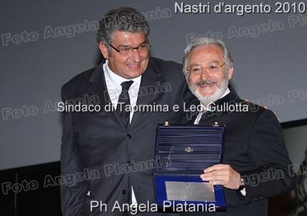 Sindaco Taormina Leo Gullotta