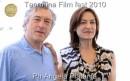 taormina film fest Robert De Niro e Deborah Young