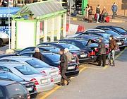 parcheggio di auto