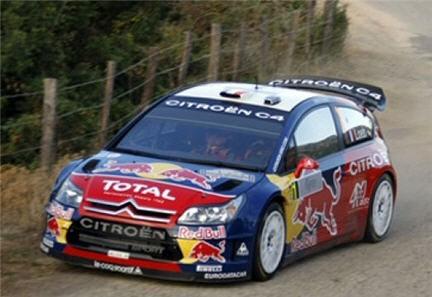 Sebastian Loeb,Loeb su citroen,Mikko Hirvonen,Mikko Hirvonen su ford focus,rally di gran Bretagna