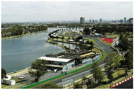 Il circuito di Melbourne